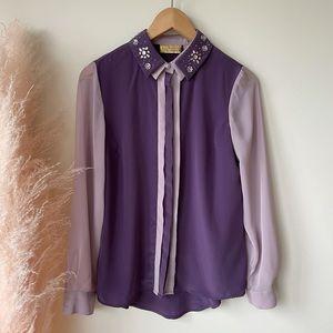 3/$30 Vera Wang Princess blouse